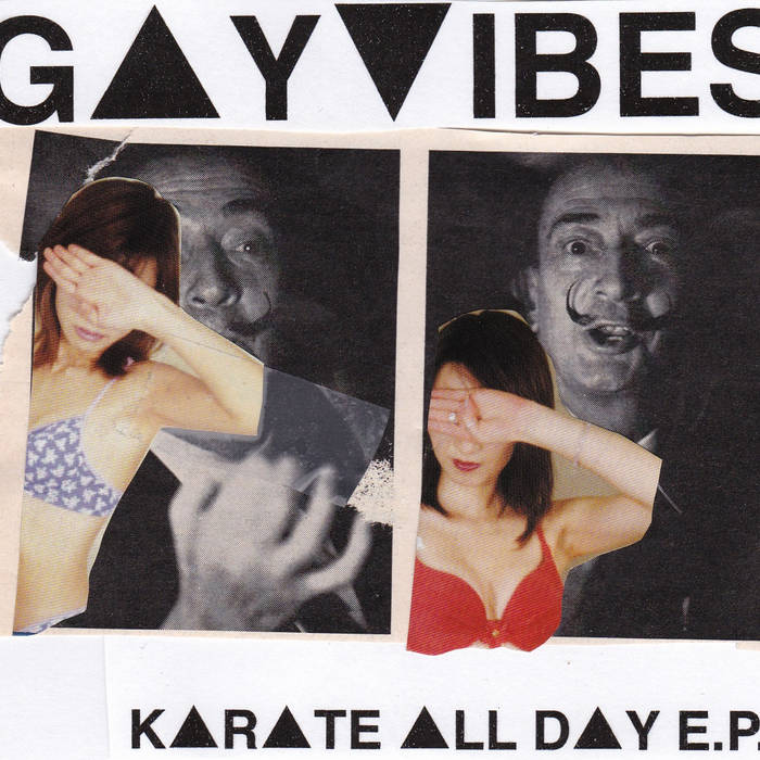 Karate All Day EP cover art