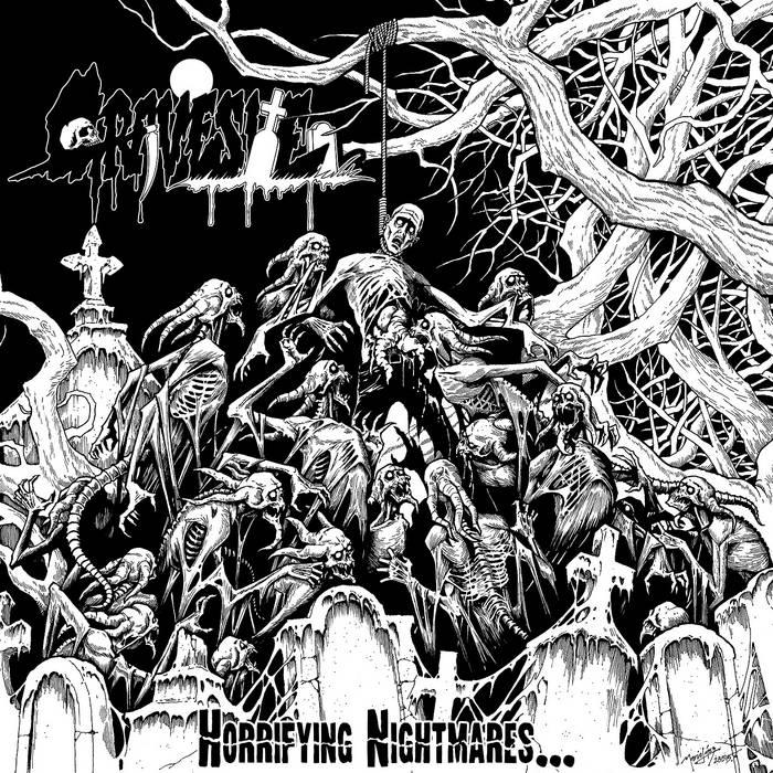Horrifying Nightmares... cover art