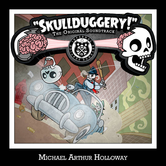 Skullduggery! The Original Soundtrack cover art