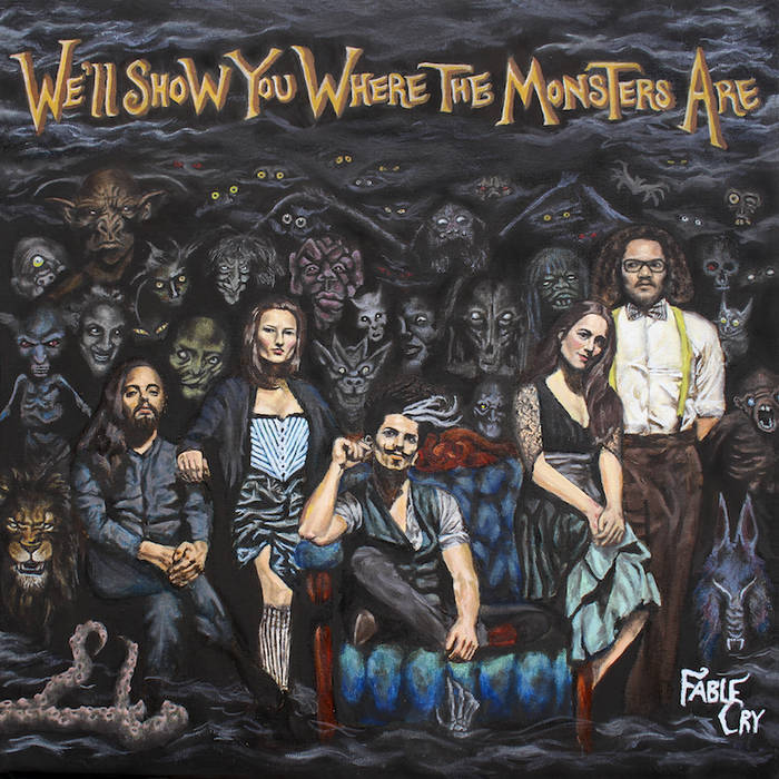 We'll Show You Where the Monsters Are cover art