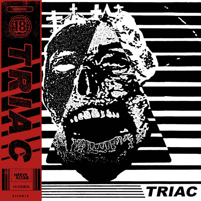 TRIAC / SACRIDOSE Split 7 Inch cover art