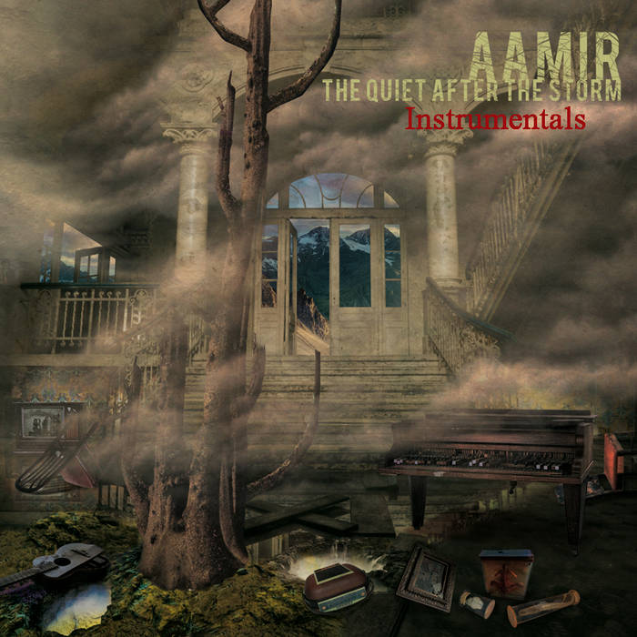 Aamir of Escape Artists - The Quiet After The Storm Instrumentals (2016)