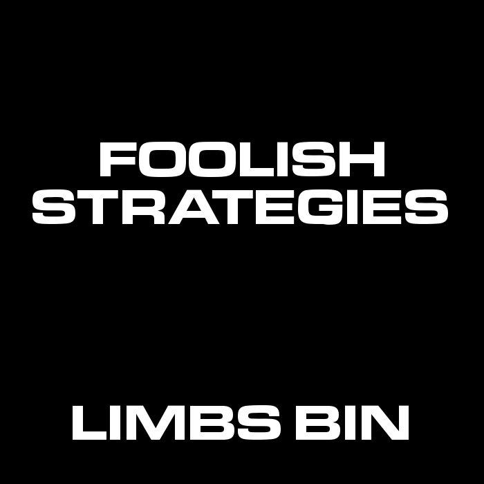 Foolish Strategies cover art
