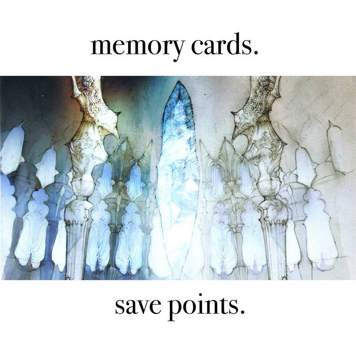 memory cards - save points