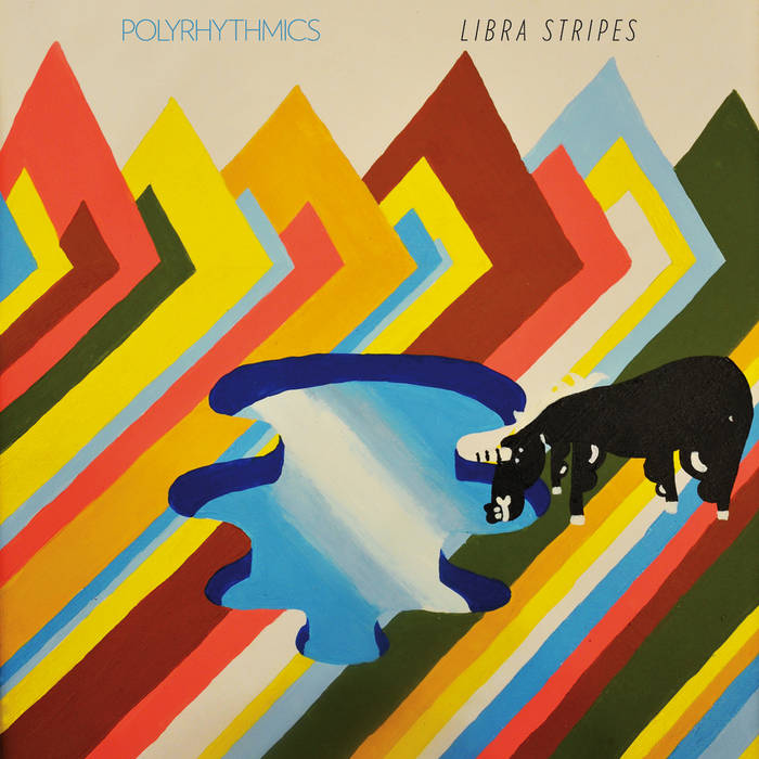 "Polyrhythmics, ""Libra Stripes"" cover art"
