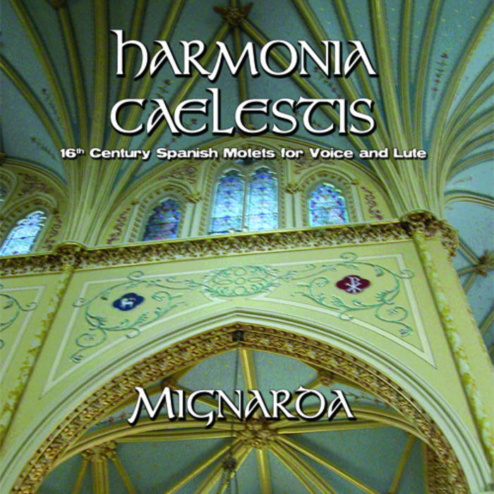 Harmonia Caelestis: 16th century Spanish Motets for Voice & Lute cover art