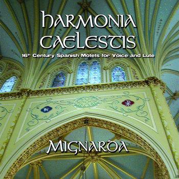 Harmonia Caelestis: 16th century Spanish Motets for Voice & Lute cover art