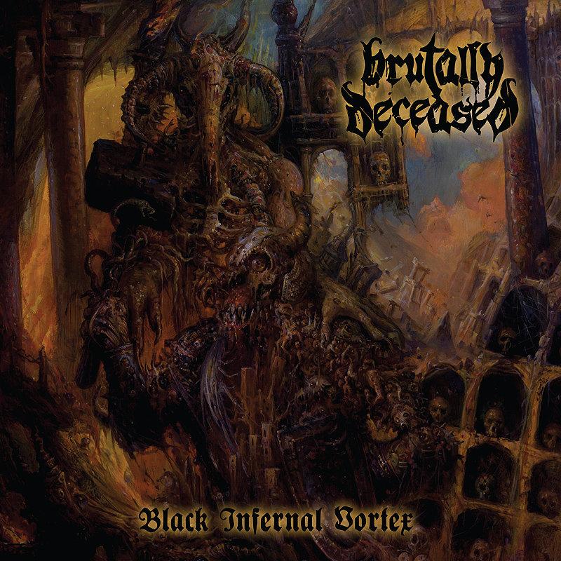 Brutally Deceased Black Infernal Vortex artwork