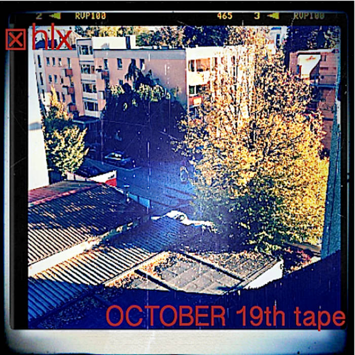 OCTOBER 19th tape cover art