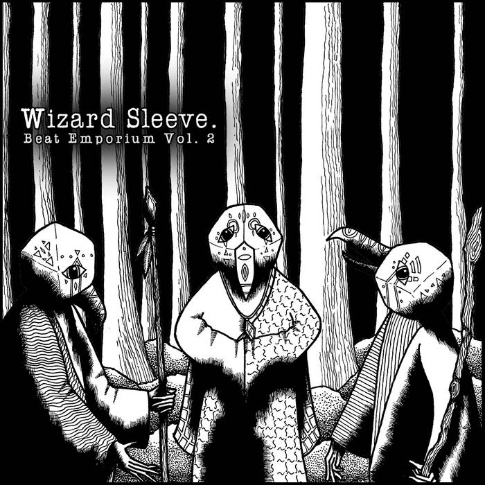 Wizard Sleeve Beat Emporium Vol. 2 cover art