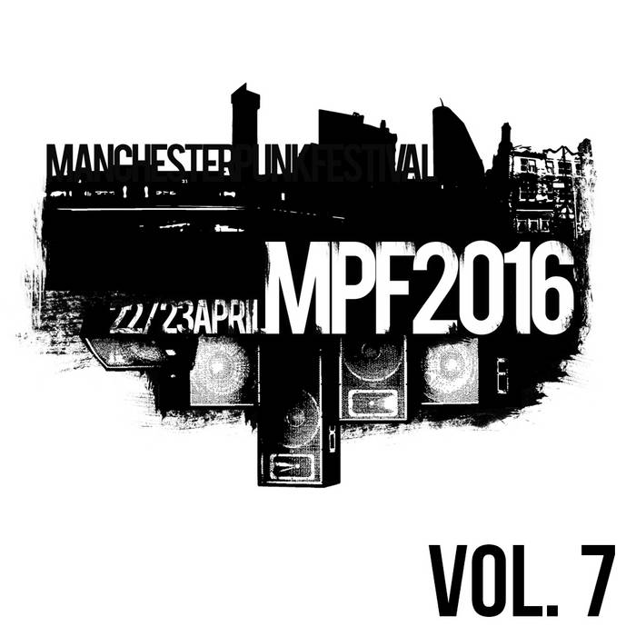 Manchester Punk Festival Vol.7 cover art