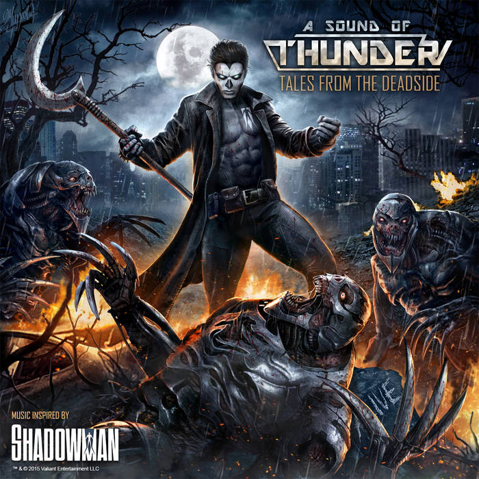Tales from the Deadside (Music Inspired by Shadowman) cover art
