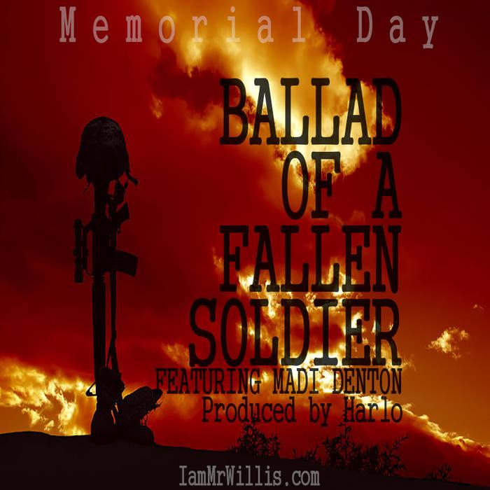 Ballad of a fallen soldier cover art
