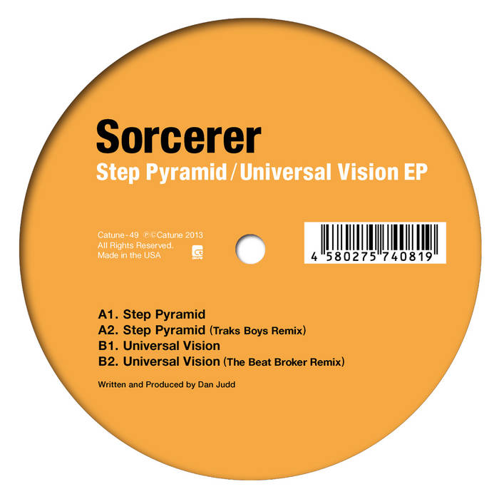 Sorcerer - Step Pyramid / Universal Vision EP cover art