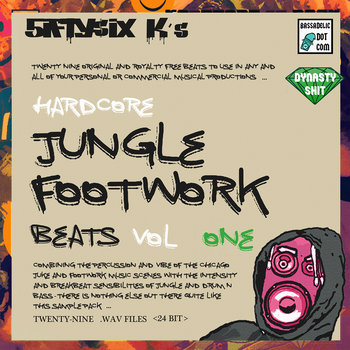 Jungle Footwork Beats (sample pack)