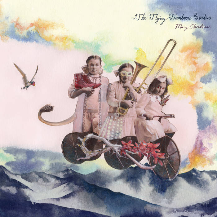 The Flying Trombone Sisters by Merry Christmas