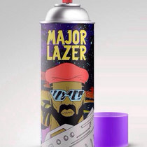 Major Lazer Feat. Pharrell 'Aerosol Can' REMIX (Prod by Moshae Beats) cover art