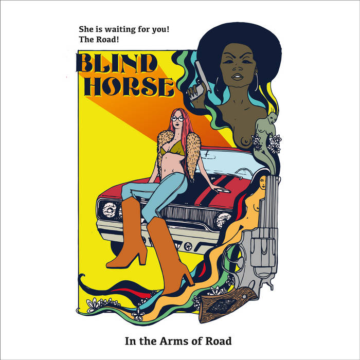 In the Arms of Road (EP) cover art