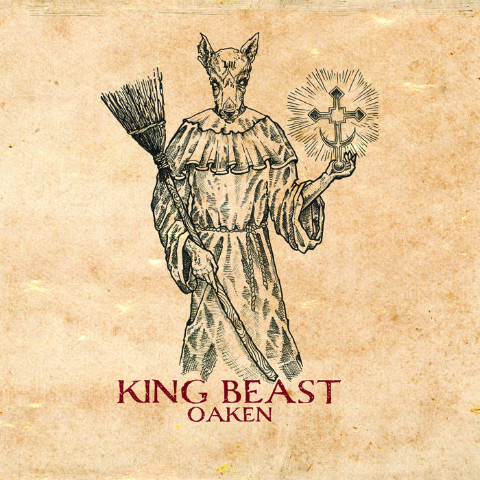AA114. Oaken - King Beast LP cover art