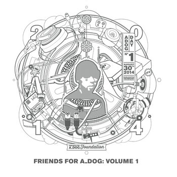 Friends For A_Dog Volume 1 cover art