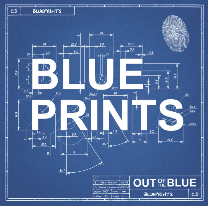 Blueprints oxford out of the blue for How to make a blueprint
