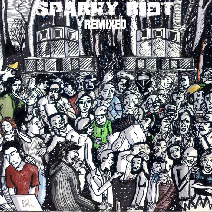 Sparky Riot - Remixed cover art