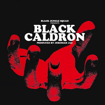 Black Caldron EP Instrumentals cover art