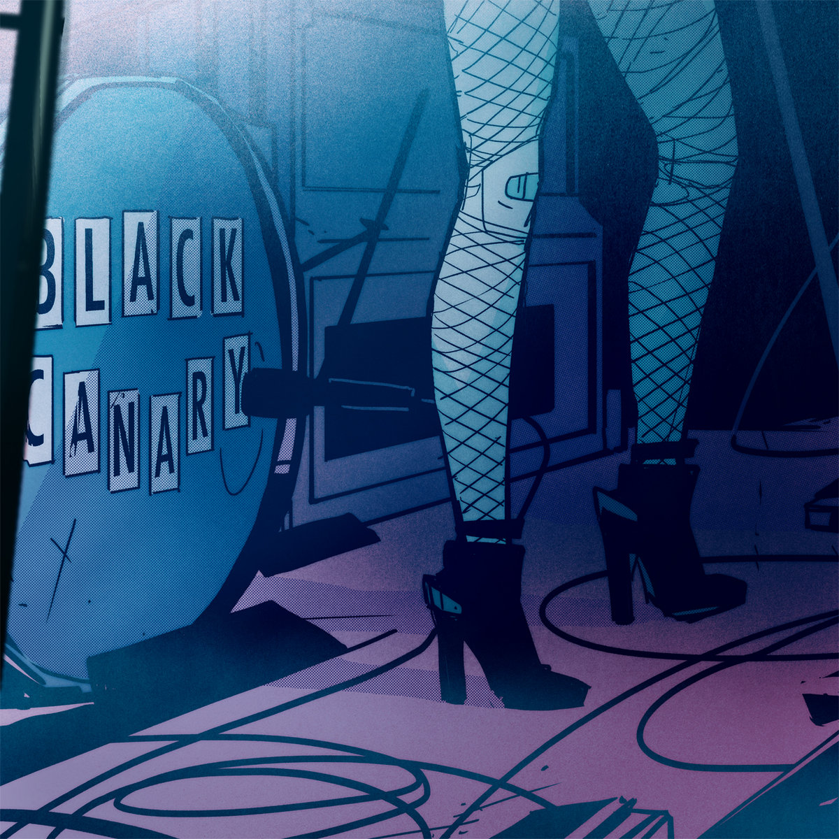 The cover art for DC Comics superheroine Black Canary's new EP. (Photo courtesy of Black... [+] Canary/Bandcamp)