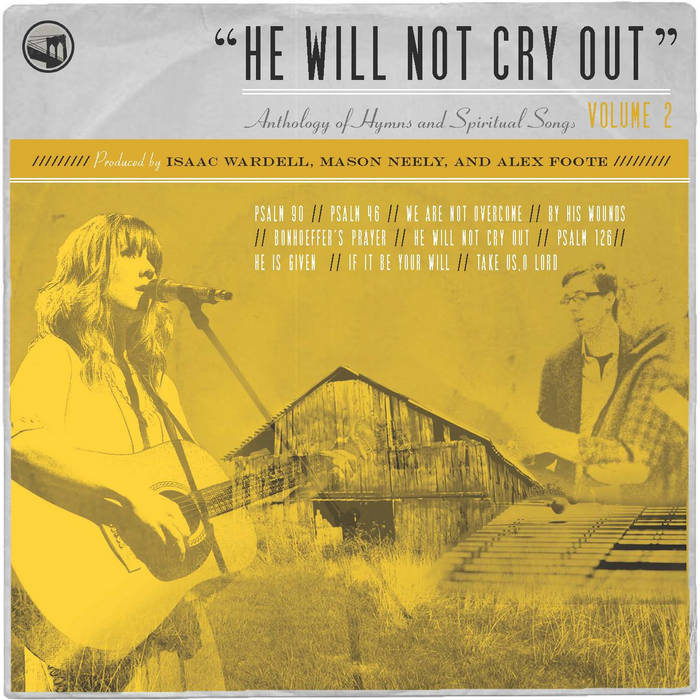 He Will Not Cry Out cover art