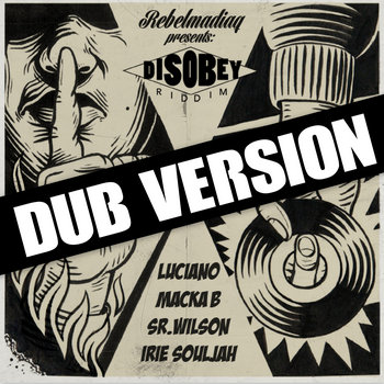 Disobey Riddim (Dub Version) cover art