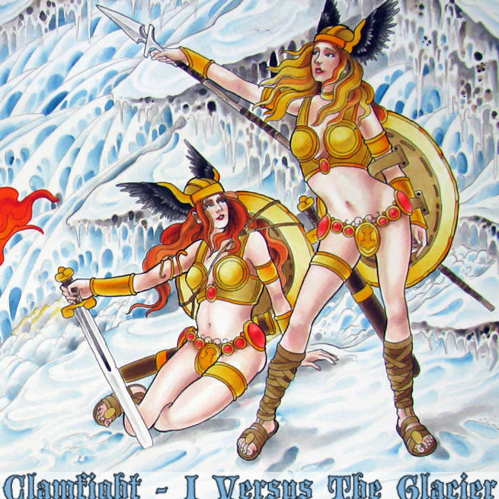 I Versus the Glacier cover art