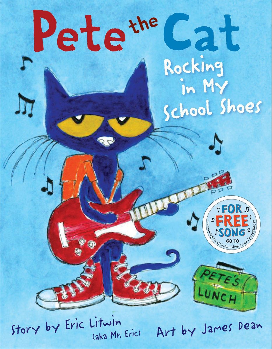Pete The Cat Rocking I Love My White Shoes