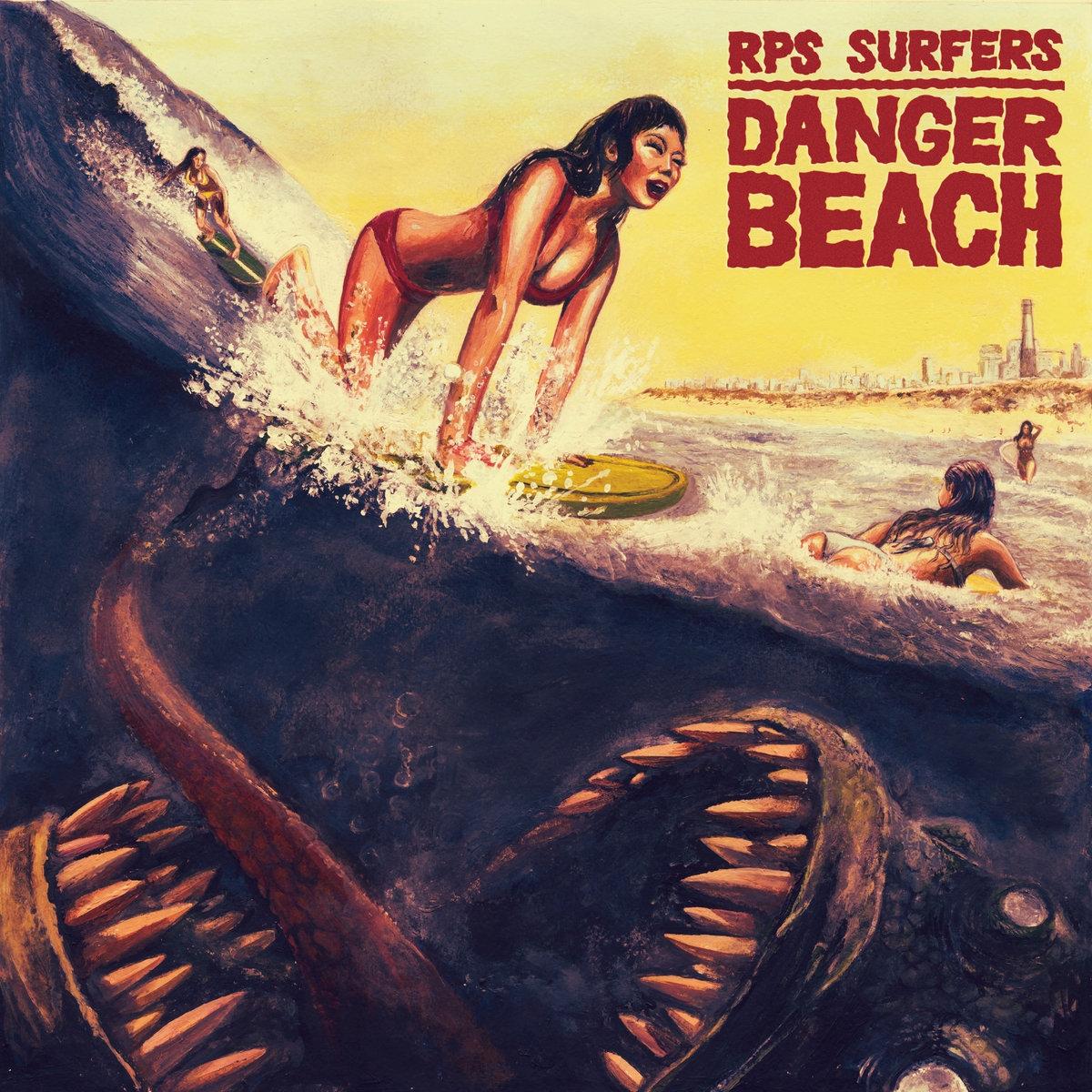 Beach Dangers uk Danger Beach Cover Art