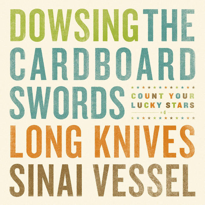 CYLS Split Series #4- Dowsing​/​The Cardboard Swords​/​Long Knives​/​Sinai Vessel cover art