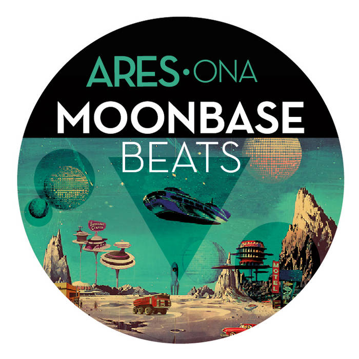 Moonbase Beats EP cover art