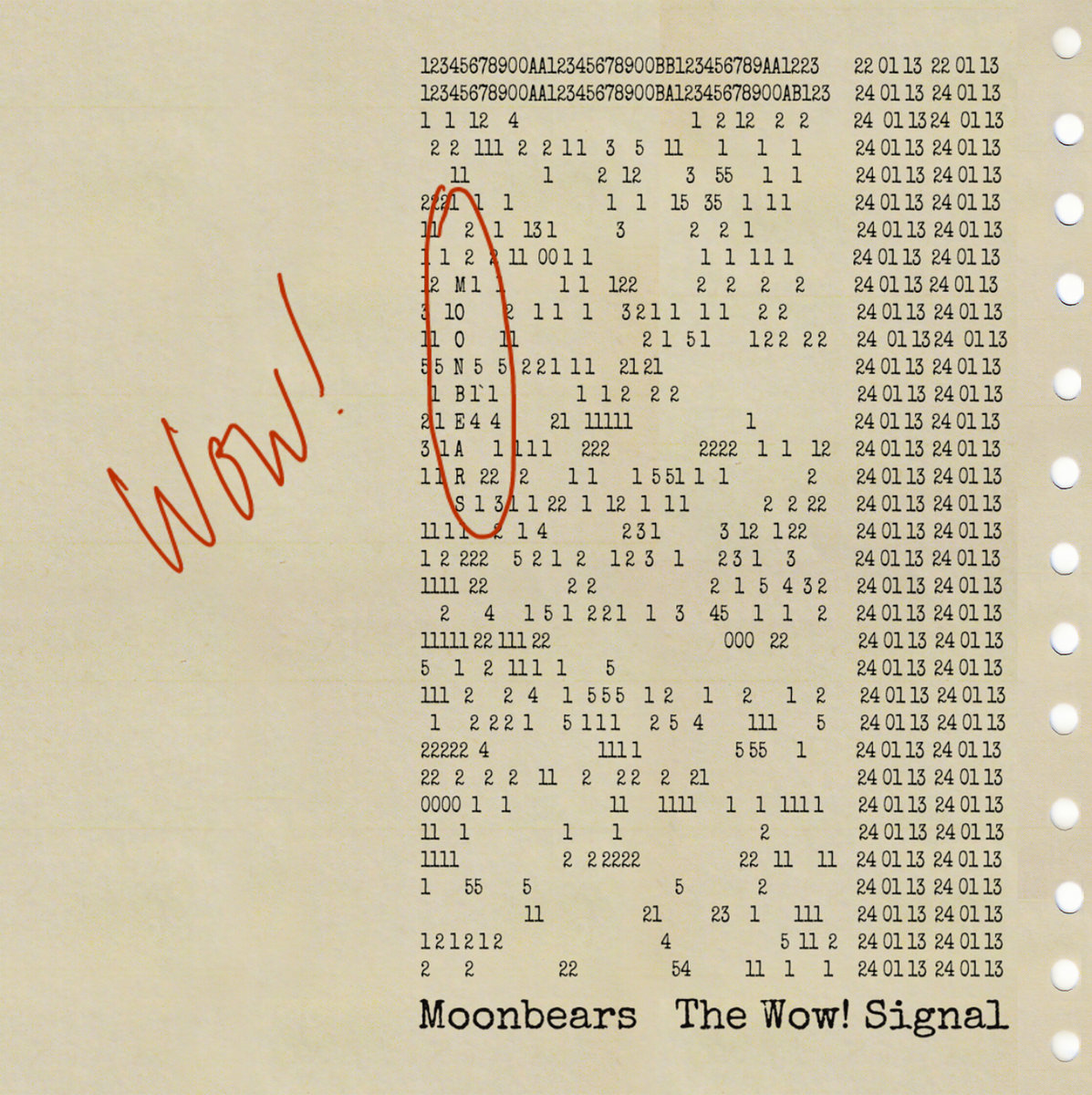 The Wow! Signal | Moonbears