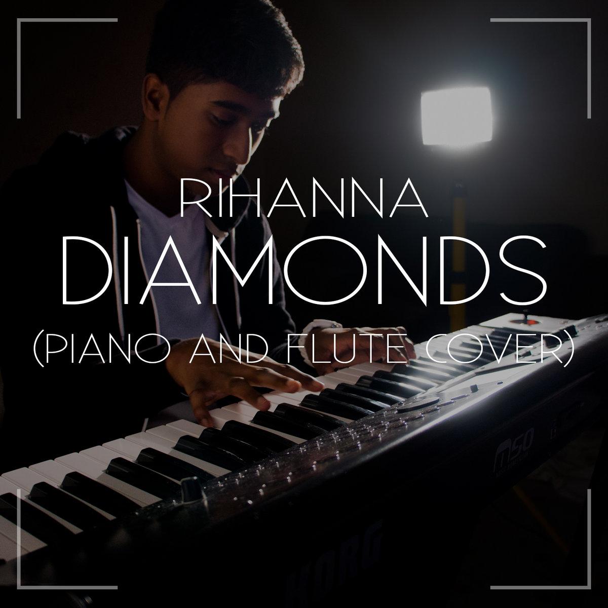 how to play diamonds by rihanna on flute