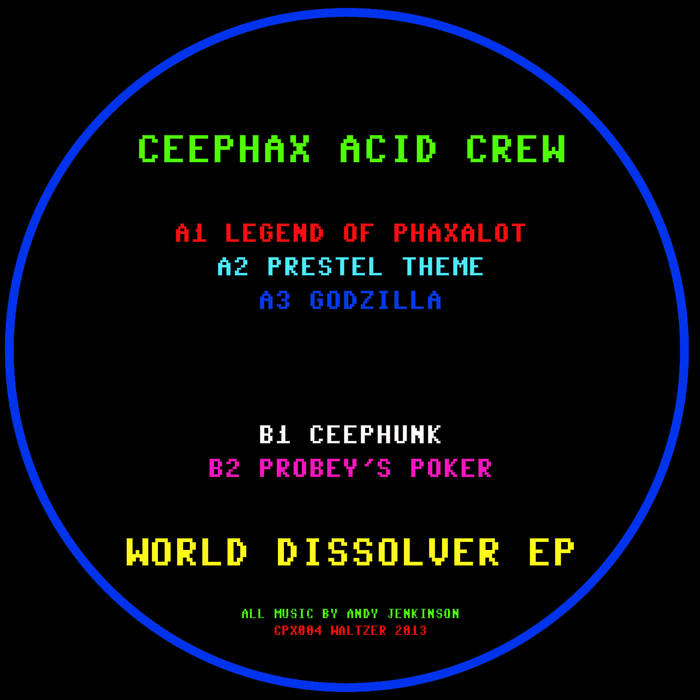 World Dissolver EP cover art