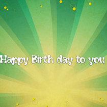 Happy Birthday to you cover art