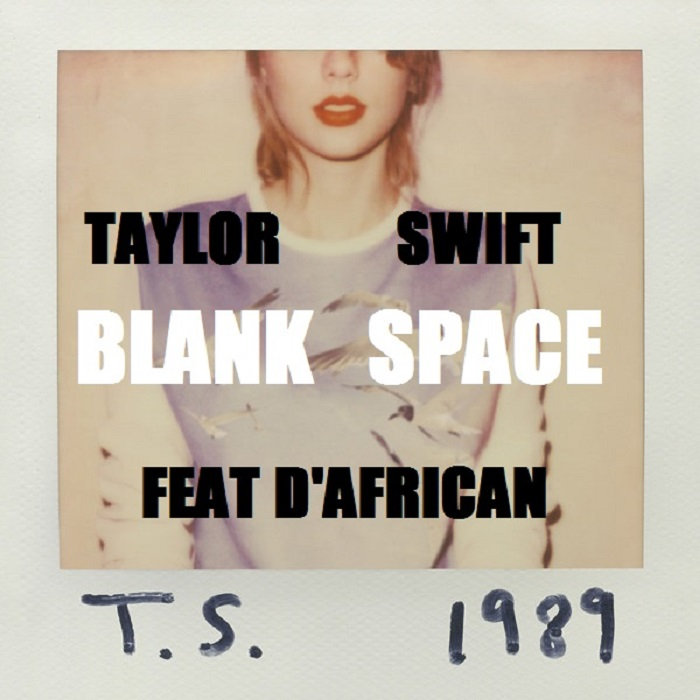Blank Space: Blank Space Cover