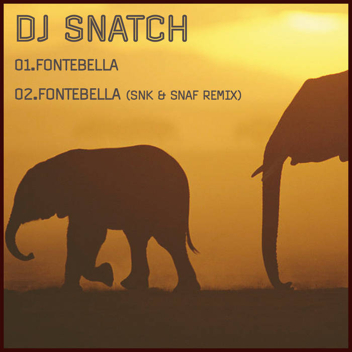 DJ Snatch - Fontebella cover art